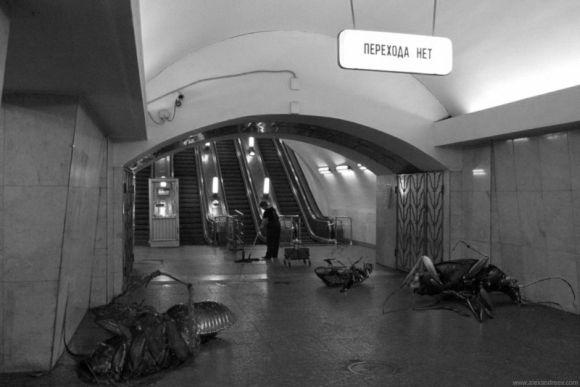 alex andreyev metronomicon fotografia manipulação digital photoshop surrealismo horror metrô