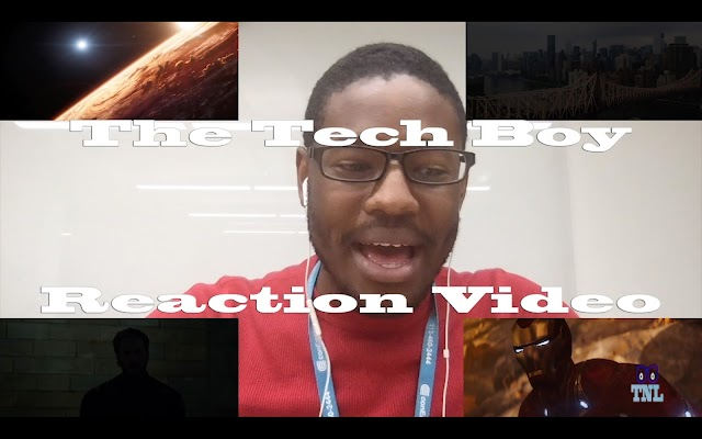 The Tech Boy Infinity War Trailer Reaction
