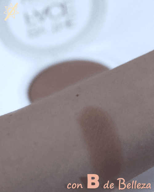Swatch maquillaje polvo