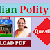 Indian polity Question And Answer Topic Loksabha In HINDI