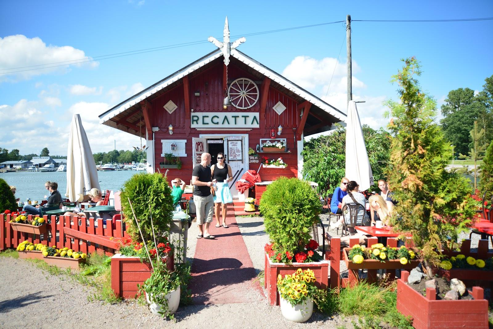 Takk Travels: Cafe Regatta