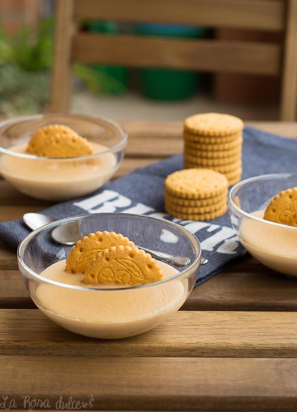 Crema de galletas maría| sin gluten, sin lactosa y sin huevo | la Rosa dulce