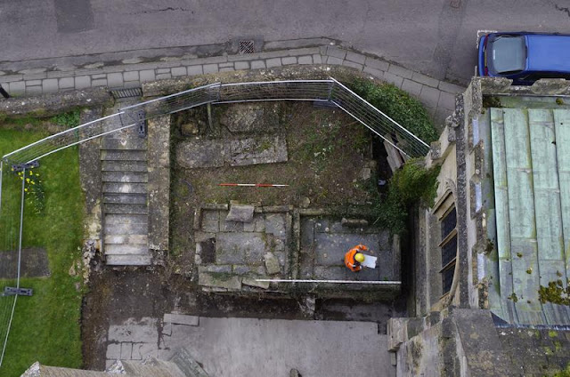 New evidence of 'lost' church found at Bradford on Avon