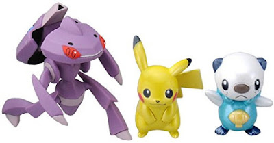 Genesect figure with Douse Drive Takara Tomy Monster Collection Super Pokemon getter DX play set