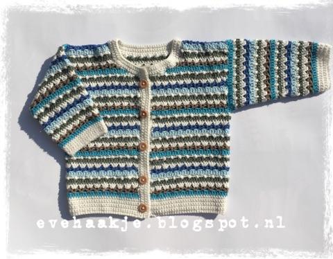 Haken En Kralen Babyvestje Baby Jacket
