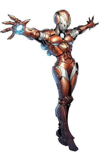 Berbagai Macam Armor Rescue dalam Komik Marvel