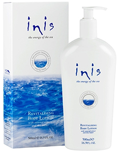 Inis body lotion pump at The Irish Gift House