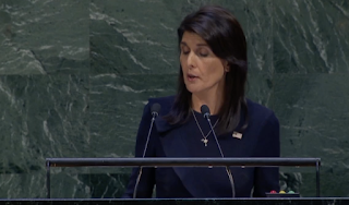 Nikki Haley tells United Nations: You're not the boss of U.S.