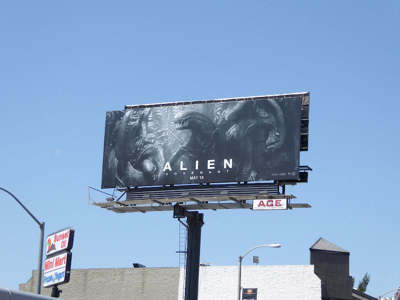 Alien Covenant film billboard