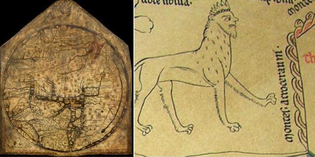 Το Άργος και ο ποταμός Ίναχος στον μυστηριώδη Μεσαιωνικό χάρτη του Hereford