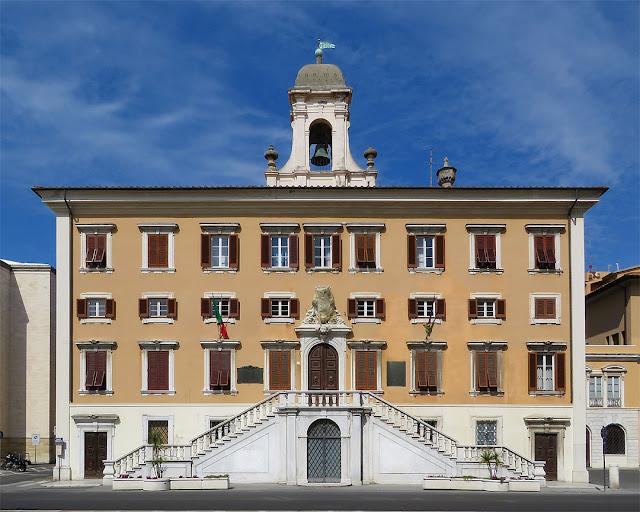 Palazzo Comunale, piazza del Municipio, Livorno