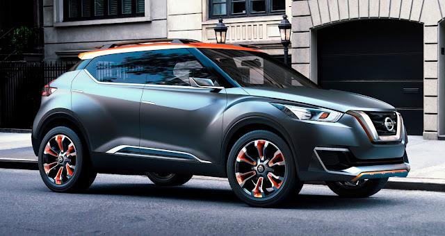 Nissan Brasil produzirá e exportará a partir de 2016 o SUV Kicks para o mercado mundial