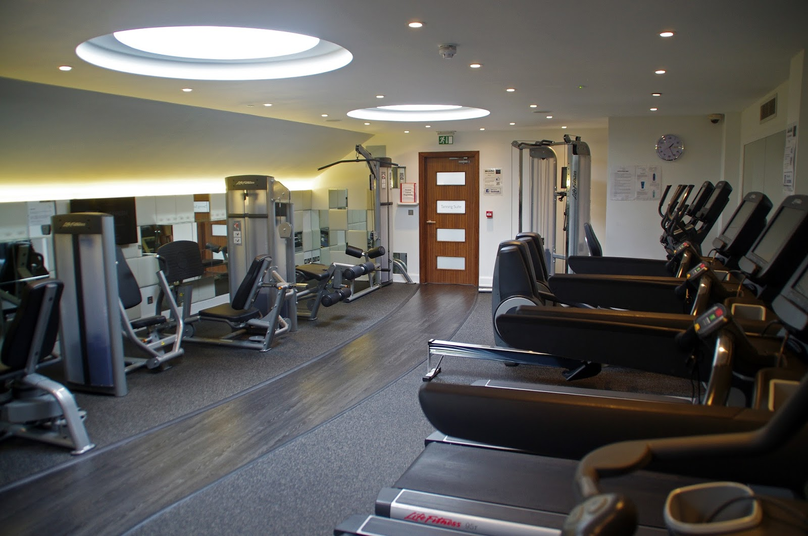 Headland Hotel Newquay Cornwall Gym