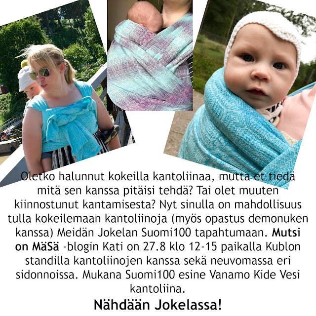 Suomi100 / Meidän Jokela / Yhdessä / Keski-Uudenmaan bloggaajat