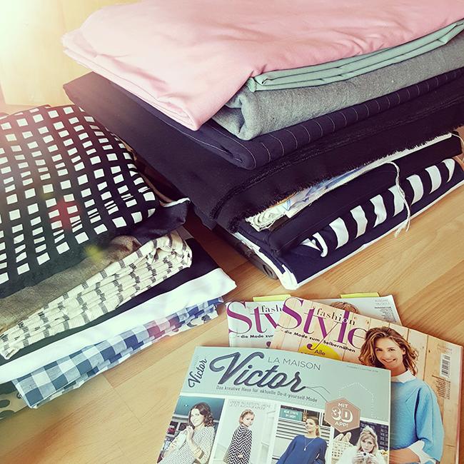sewing, nähen, knipmode, Stoff&Stil, stoffe.de, La Maison Victor