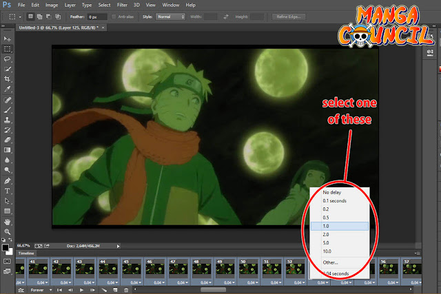 How to Make a GIF from Video with Photoshop 04