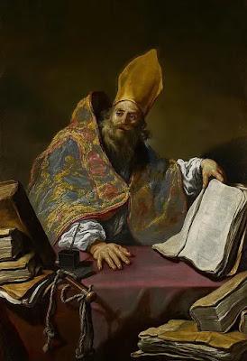 Imagem de Santo Ambrósio, pintura, #1
