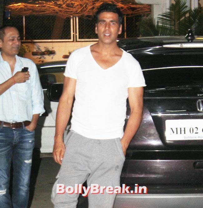 Akshay Kumar, Preeti Desai, akshay Kumar at Holiday Special Screening