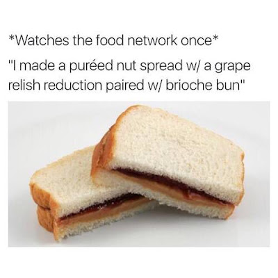 watches food network once