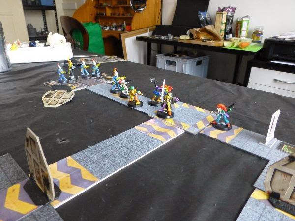 40k killteam eldar move forward