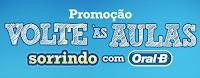Promoção Volta às Aulas sorrindo com Oral-B sorrindocomoralb.com.br