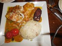 food at blue lagoon