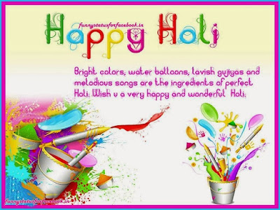Happy Holi Quotes Images For Facebook 2017