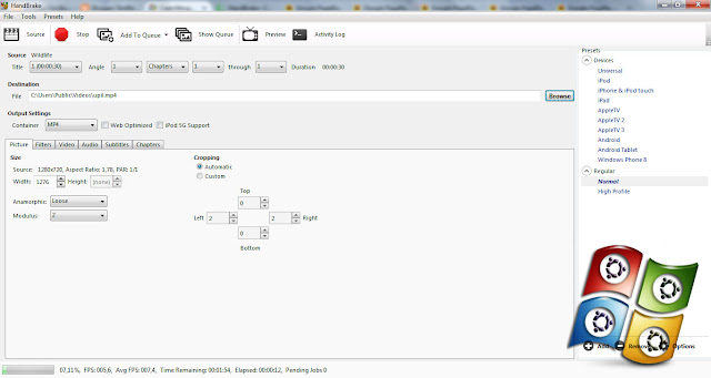 Download HandBrake 0.10.5 Terbaru Full Version Untuk Compress Video