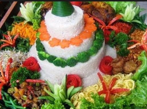 Resep Tumpeng Nasi Putih