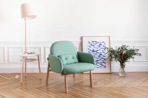 кресло Georges от дизайнера Гийома Delvigne