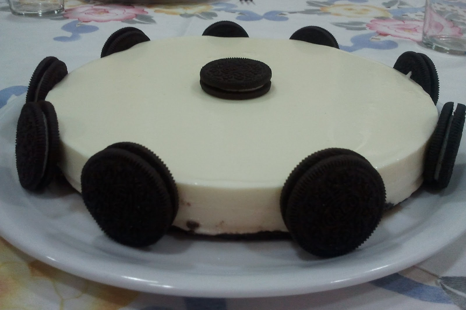 Crema De Chocolate Blanco Para Decorar Sugar Avenue Tarta De Chocolate Blanco Con Oreo
