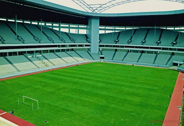 Stadion Batakan Bakal Jadi yang Terbaik di Indonesia
