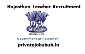 Rajasthan Teacher Recruitment