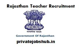 Rajasthan Teacher Recruitment