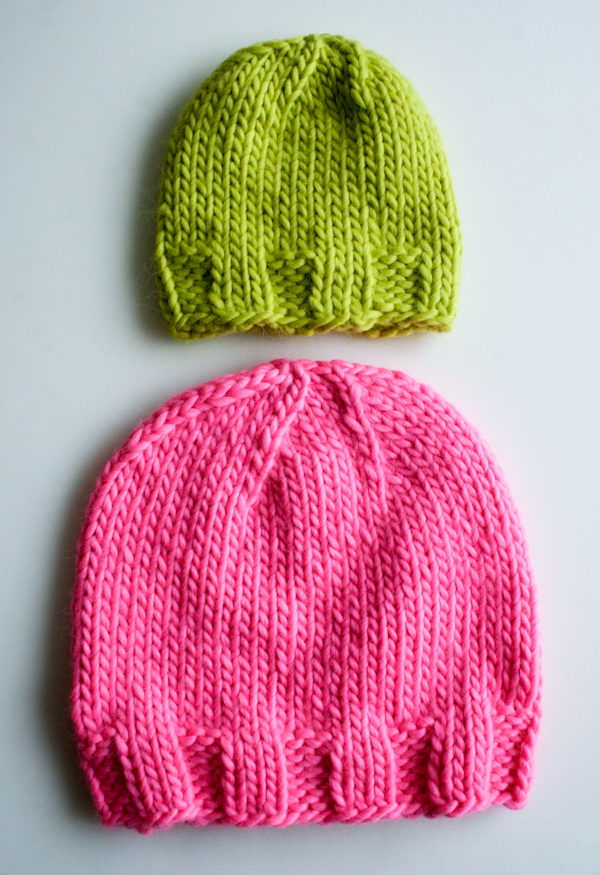 Knit Gift Ideas: 5 FREE Hat Knit Patterns For Beginners ...