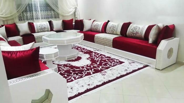 beaux salons marocainsdes images luxe  decorationmarocains