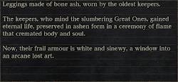 In-game Description Print
