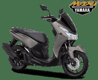 Pilihan Warna Yamaha Lexi S Grey