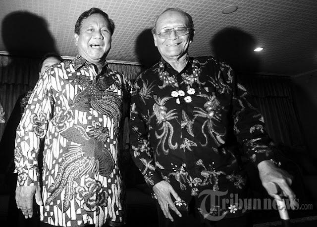 Kisah Buya Syafii Bersama Prabowo Semobil di Libya