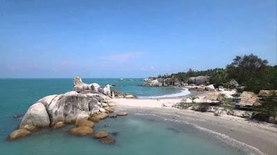 Pesona Pantai Rambak Bangka
