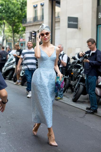 Fashion Week in Paris: Ulyana Sergeenko