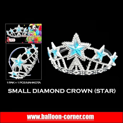 Small Diamond Crown (Star)