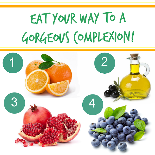 Eat Your Way To A Gorgeous Complexion  via  www.productreviewmom.com