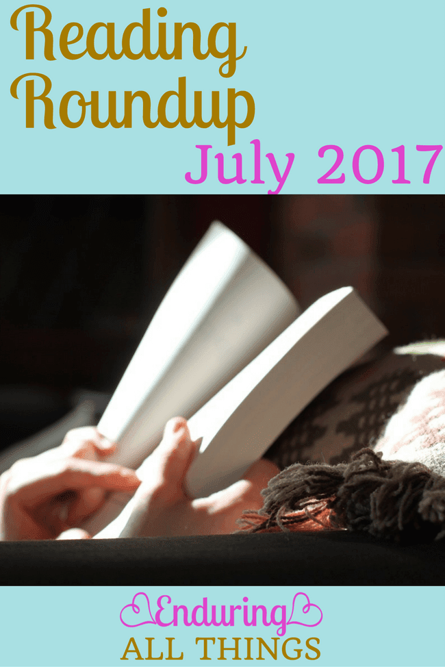 Book reviews of everything I read in July