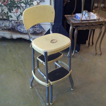 kitchen step stool with seat