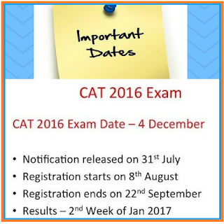 cat result 2016 declared