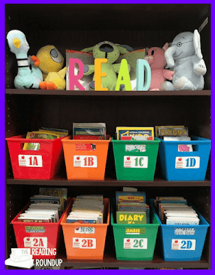The Reading Roundup - Classroom library