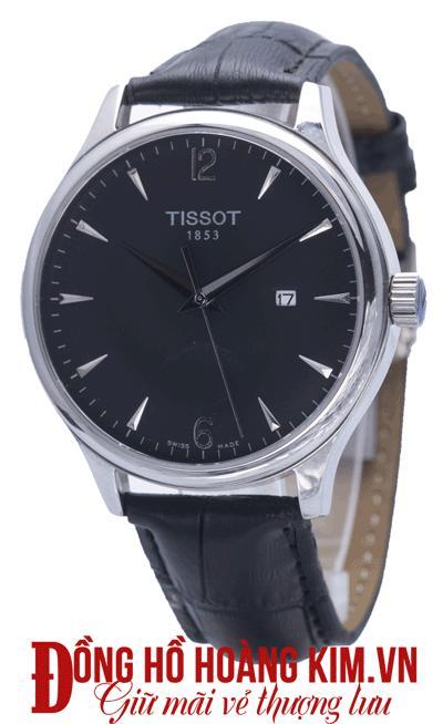 đồng hồ tissot nam chính hãng dây da