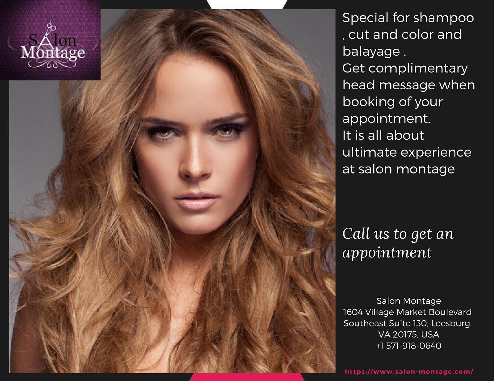 Salon Montage offers