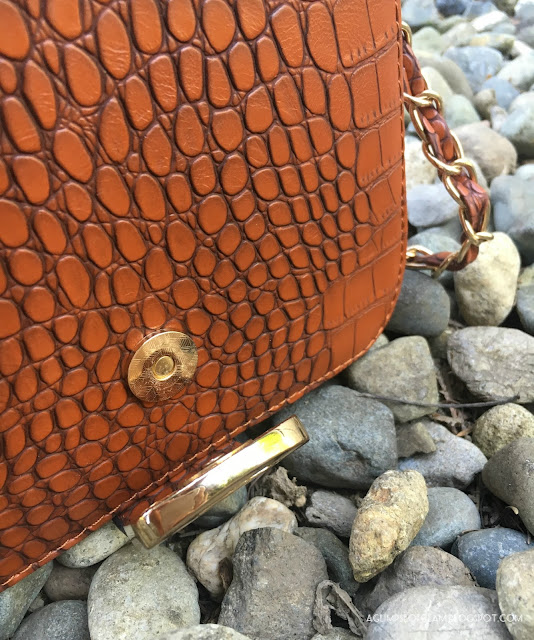 Crocodile Purse Detailing Banggood - Andrea Tiffany A Glimpse of Glam